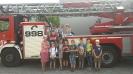Klasa 3b w Straż Pożarnej